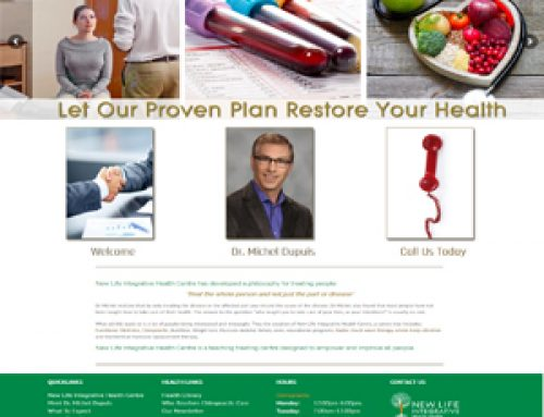 Dr. Michel Dupuis D.C.New Life Integrative Health