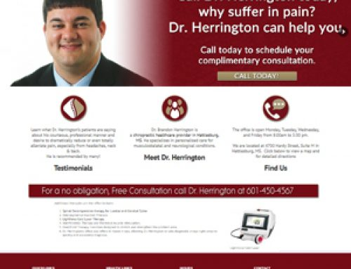 Dr. Brandon HerringtonHerrington Chiropractic